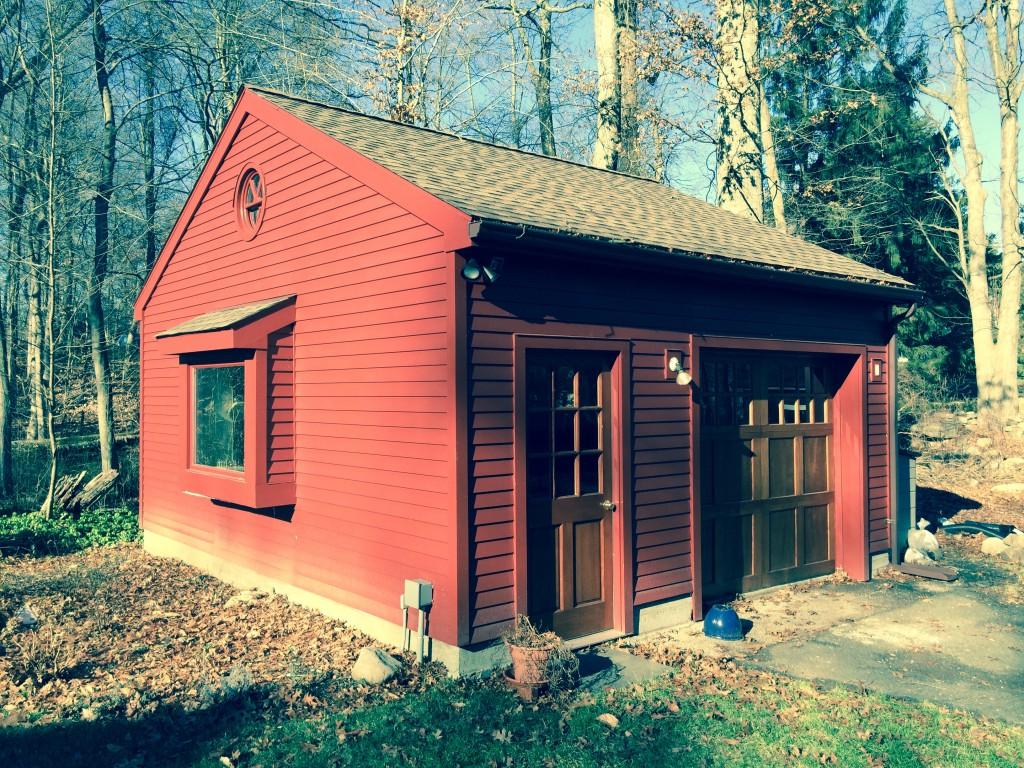 Detached garage builder in Stamford CT