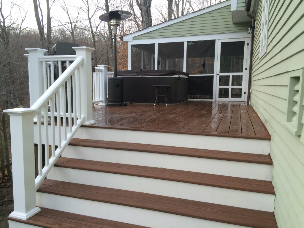 Porch Renovation Wilton CT